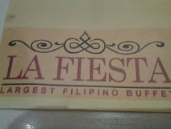 La Fiesta Largest Filipino Buffet