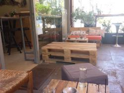 Work cafe bar at Cholargos