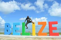 ‪The Belize Sign Monument‬