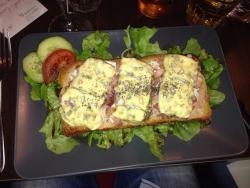 lady sandwich
