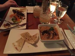 Lamb pancetta, pork belly, and amaretto sours