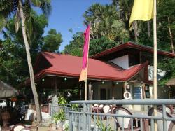 Near pool area - bar