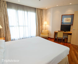 The Updated Suite at the Confortel Alcala Norte