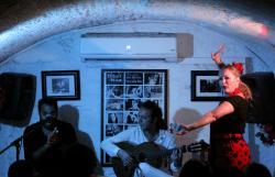 Фламенко в баре Andalusion dog
