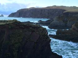 View of Sybil Head from the peninsula near Ferriter's Cove