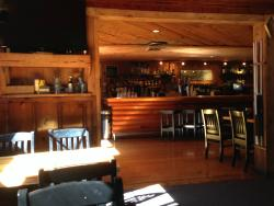 Dining area and bar
