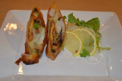 Soft shell crab spring roll