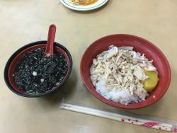 Turkey Rice and Loba Pork Rice