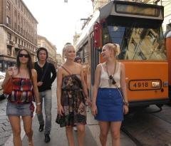 A passeggio per la città