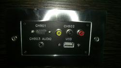 Multimedia wall input