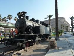 Estacion de Ferrocarril Arica La Paz