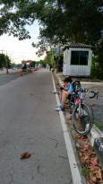 The Thai-Cambodian border trade market at Trat