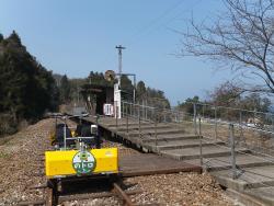 奥のとトロッコ鉄道 のトロ