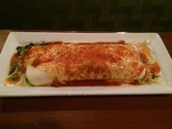 Burrito Loco with carnitas!! It's so good!!