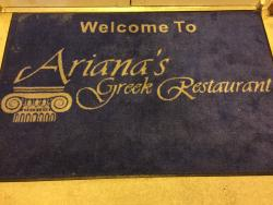 Ariana's Greek Restaurant