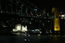 Luna Park & Sydney Harbour Bridge @ Night