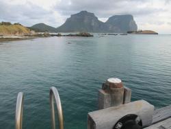 View from the jetty near Arajilla