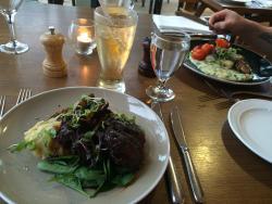Our lovely dinner