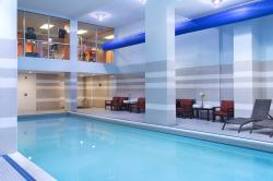 Take a swim in our heated indoor pool! Its a great way to unwind. Fitness centre is open 24hrs.