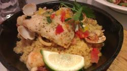 鮮魚海鮮烤飯(熱量Calories:573卡)