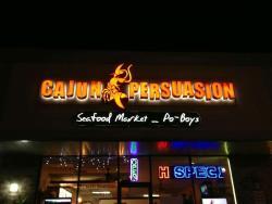 cajun Persuasion seafood & poboys