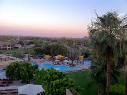View From Dining Room at Sunset