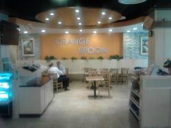 Orange Spoon