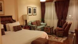 Actual deluxe room