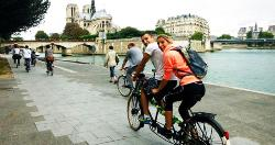 Paris by bike Le Grand Huit