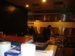 More kitchen area