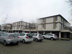 Vue de la résidence hôtellière