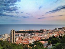 Замечательная панорама Монако