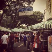 Tom Jobim street market