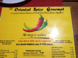 The Oriental Spice Gourmet