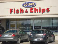Golden Fish and Chips