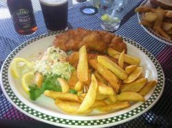 My generous order of Fish 'N Chips