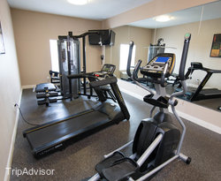 Fitness Center at the BEST WESTERN PLUS Seawall Inn & Suites by the Beach