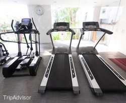 Fitness Center at the Rendezvous Grand Hotel Singapore