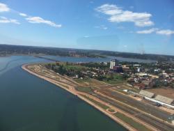 Costanera de la Ciudad de Encarnación Paraguay