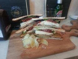 Sandwich Vegetariano