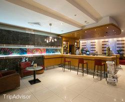 Restaurant and Bar at the Radisson Blu Hotel