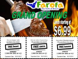 Farofa Taste Of Brazil