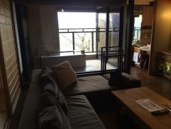 Onsen and sofa room