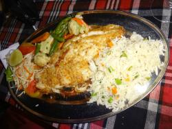 Fish filet (butter garlic)
