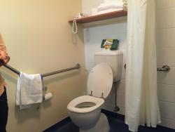 Good facilities for disabled.