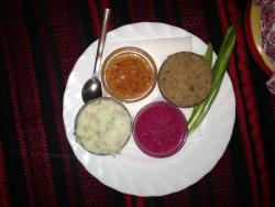 Colourful, interesting dips