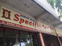 Rumah Makan Spesifik Aceh