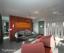The Presidential Suite at the Scandic Sydhavnen
