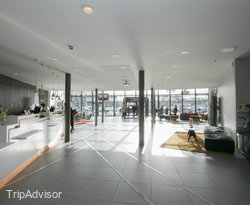 Lobby at the Scandic Sydhavnen