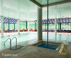 The Indoor Pool at the Hotel Solverde Spa & Wellness Center